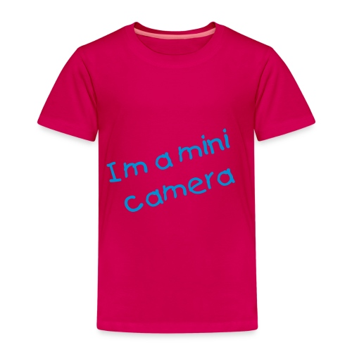 im a mini camera kids tshirt - Kids' Premium T-Shirt