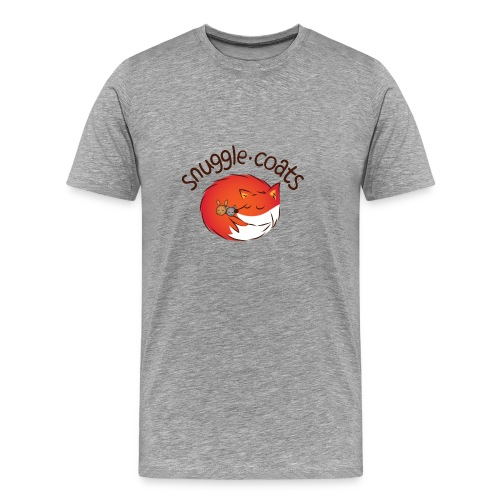 Snuggle Coats Logo Mens Tee - Men's Premium T-Shirt