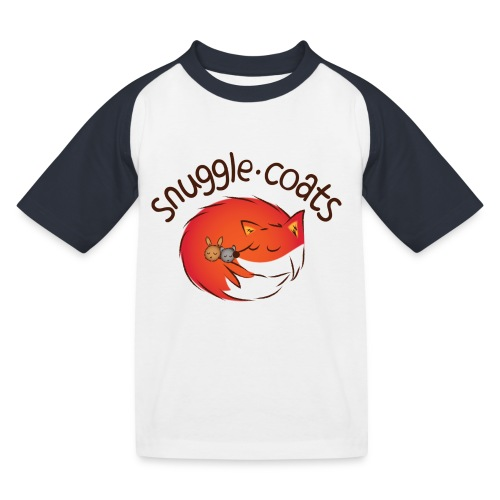 Snuggle Coats Logo Kids Baseball Tee - Kids' Baseball T-Shirt