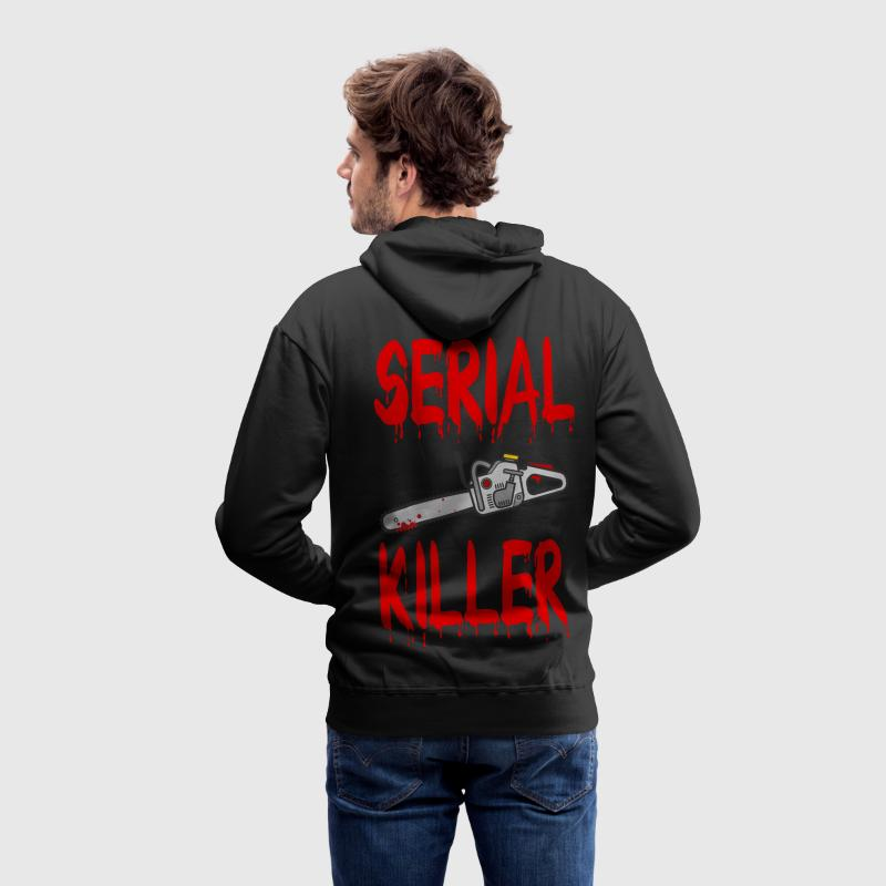Serial Killer - Sweat-shirt à capuche Premium pour hommes