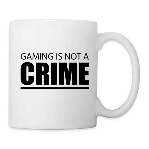 Gaming is not a Crime Tasse - Tasse