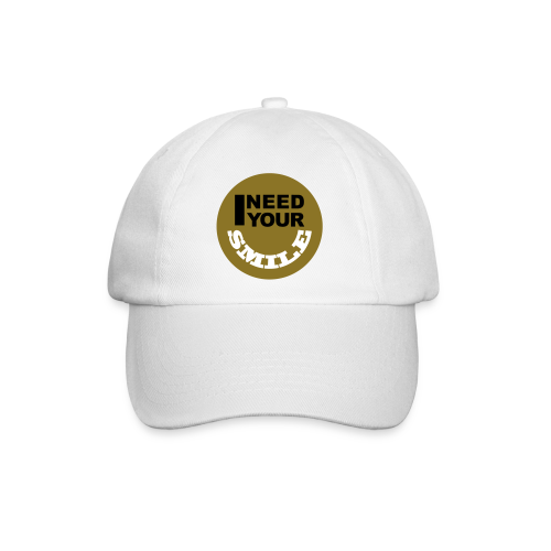 I Need Your Smile - Baseballcap