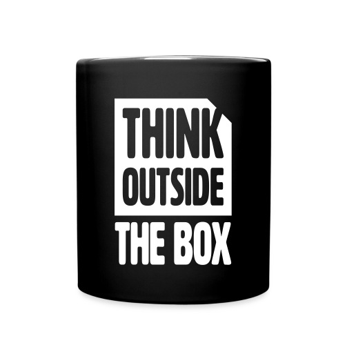 THINK OUTSIDE THE BOX KAFFEETASSE - Tasse einfarbig