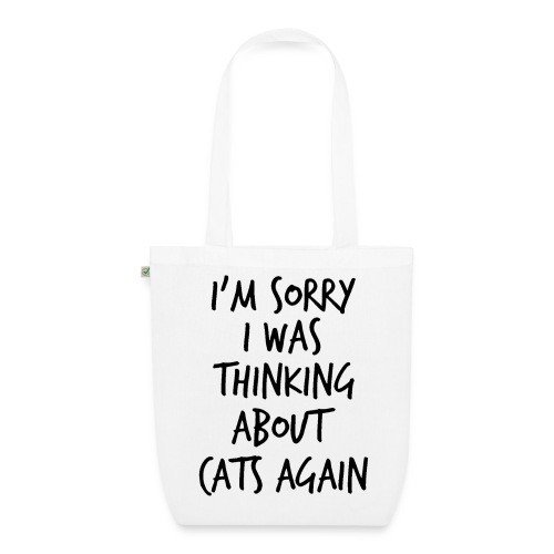 I'm Sorry Organic Tote - EarthPositive Tote Bag