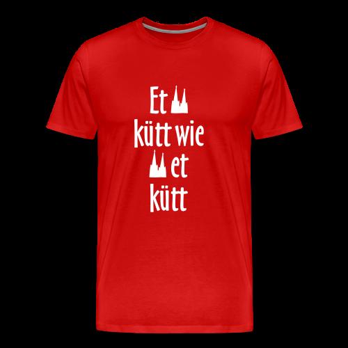 Et kütt wie et kütt O.Z. (Weiß) S-5XL Köln T-Shirt - Männer Premium T-Shirt