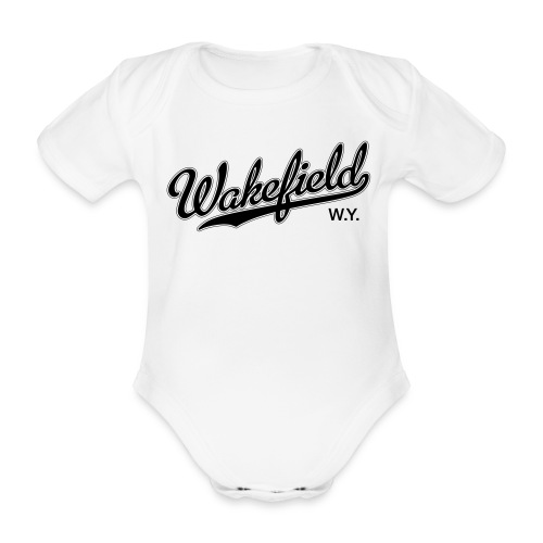 Drooler (W) - Organic Short-sleeved Baby Bodysuit