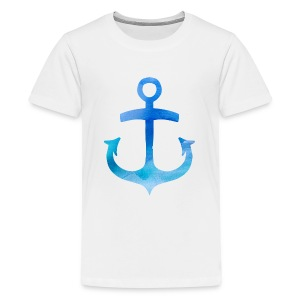 Anchor Watercolor Paidat - Teinien premium t-paita