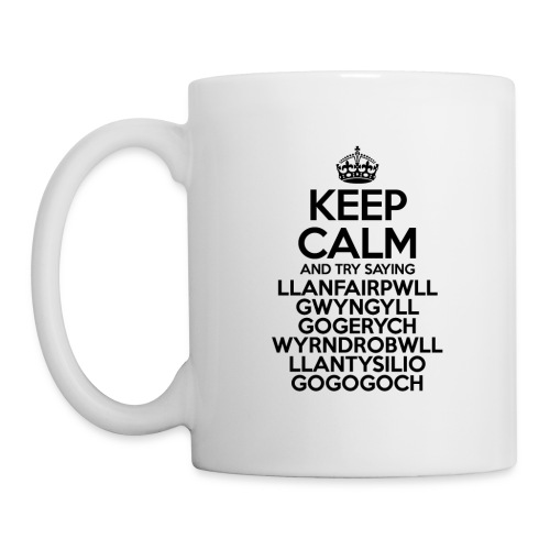 Keep Calm Llanfair Mug - Mug