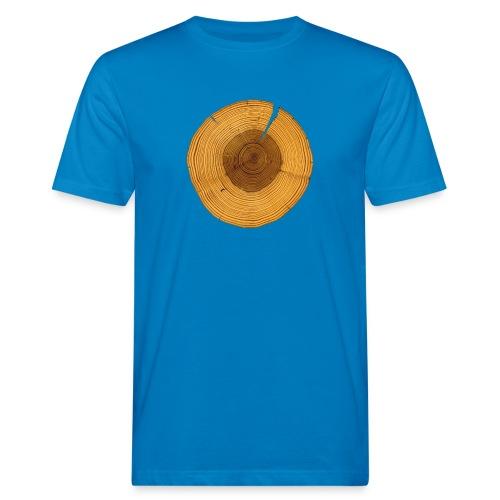 Baumring - Männer Bio-T-Shirt