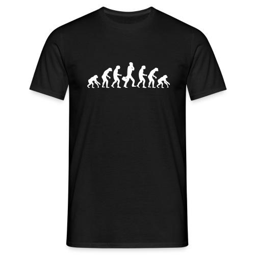 Evolution régression de l'homme - T-shirt Homme