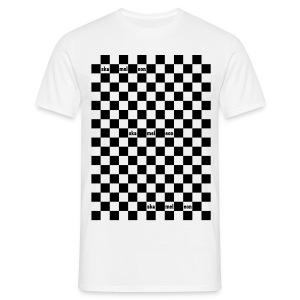 skamaleon sKAROMANIA weiß - Männer T-Shirt