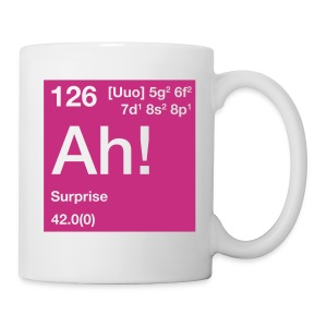 The Element of Surprise - Tasse