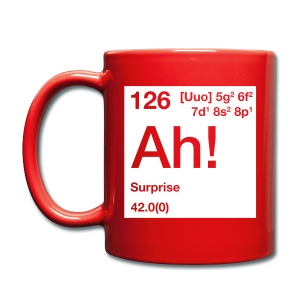 The Element of Surprise - Tasse einfarbig