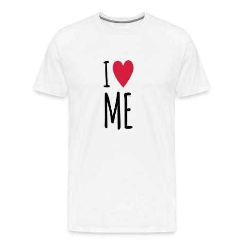 I love me – Männer Premium Shirt (dh) - Männer Premium T-Shirt