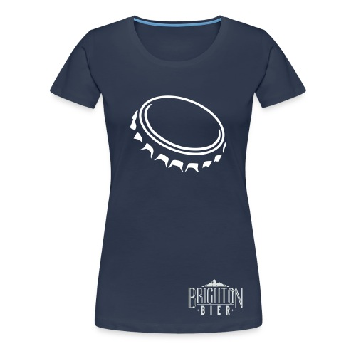 Brighton Bier bottle - Women's Premium T-Shirt