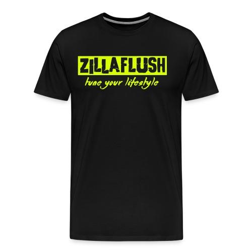 ZillaFlush - Männer Premium T-Shirt