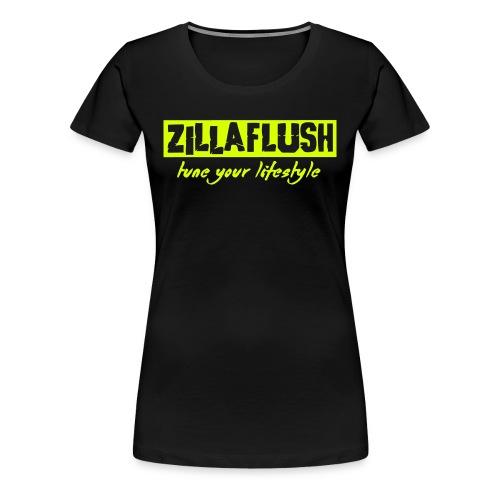 ZillaFlush - Frauen Premium T-Shirt