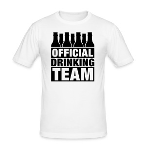 Official Drinking Team - Men's Slim Fit T-Shirt