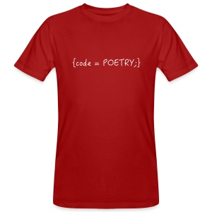 Code is poetry - Männer Bio-T-Shirt