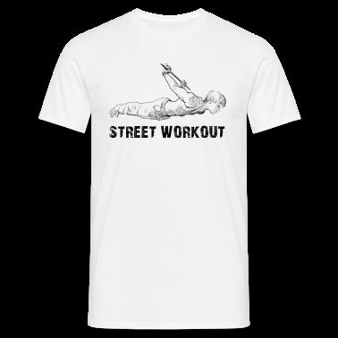 Street workout t shirts t shirt spreadshirt for Design your own workout shirt