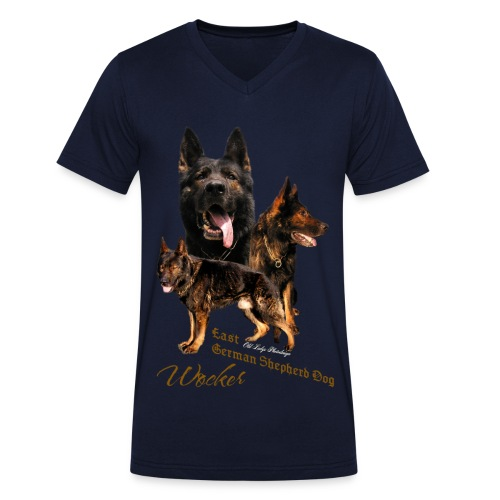 Wocker - Männer Bio-T-Shirt mit V-Ausschnitt von Stanley & Stella