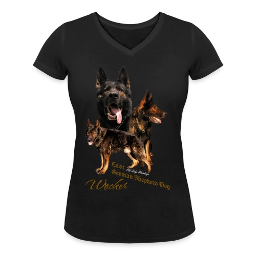 Wocker - Frauen Bio-T-Shirt mit V-Ausschnitt von Stanley & Stella