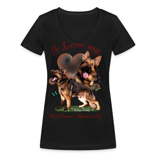 Zorro - Frauen Bio-T-Shirt mit V-Ausschnitt von Stanley & Stella