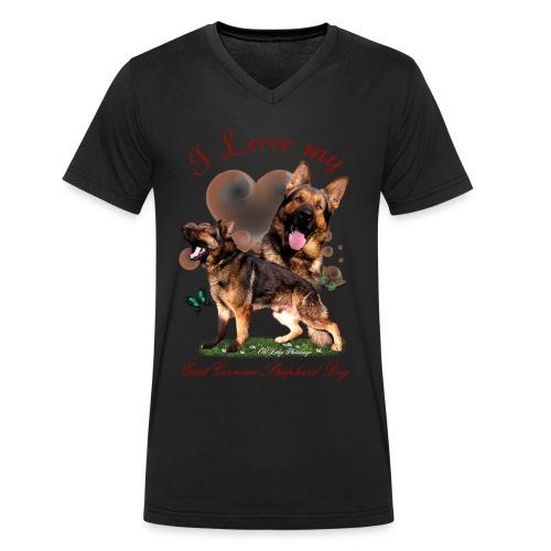 Zorro - Männer Bio-T-Shirt mit V-Ausschnitt von Stanley & Stella