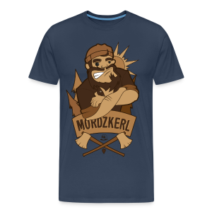 mordzKERL Männer - Männer Premium T-Shirt