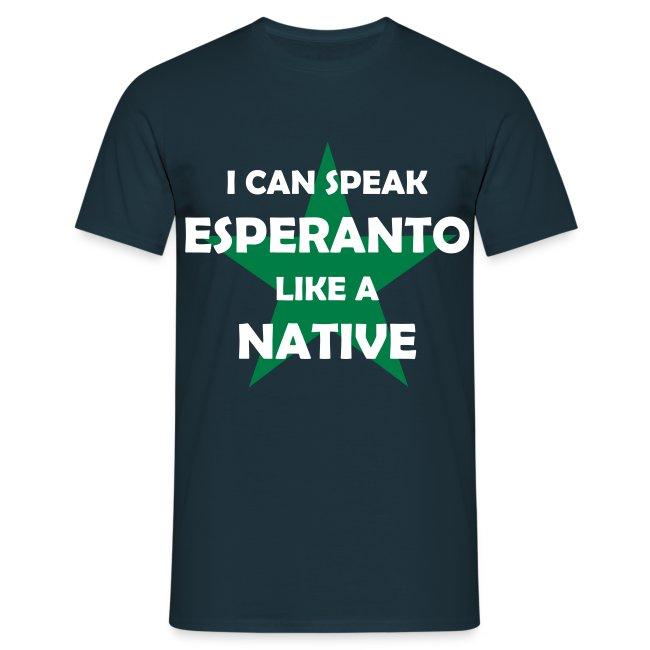 I CAN SPEAK ESPERANTO LIKE A NATIVE