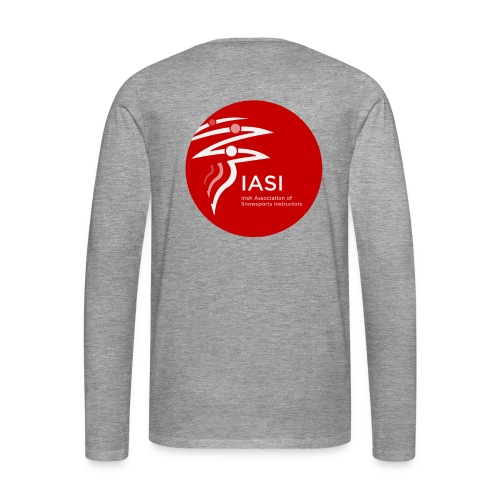 Mens grey long sleeve t-shirt - Men's Premium Longsleeve Shirt