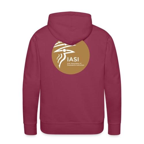 Mens burgundy hoodie - Men's Premium Hoodie