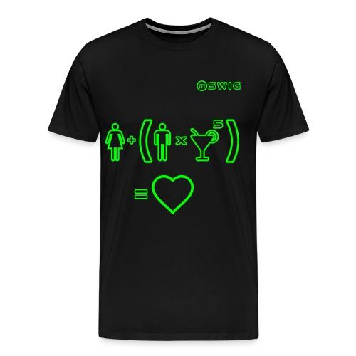 T-Shirt Barman Equazione - Maglietta Premium da uomo