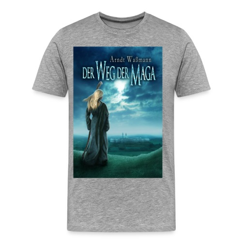 Der Weg der Maga farbig  (T-Shirt Männer) - Männer Premium T-Shirt