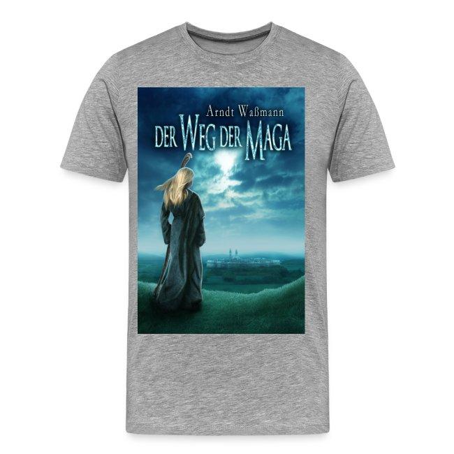 """""""Der Weg der Maga"""" farbig  (T-Shirt Männer)"""