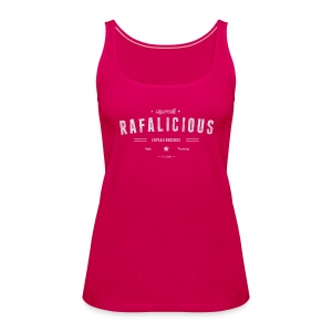 Rafalicious - Light text - Women's Premium Tank Top