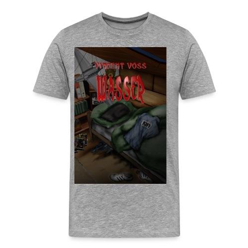 Wasser farbig  (T-Shirt Männer) - Männer Premium T-Shirt