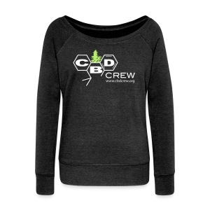 CBD Crew Womans Boat Neck,  Long Sleeve  - Women's Boat Neck Long Sleeve Top