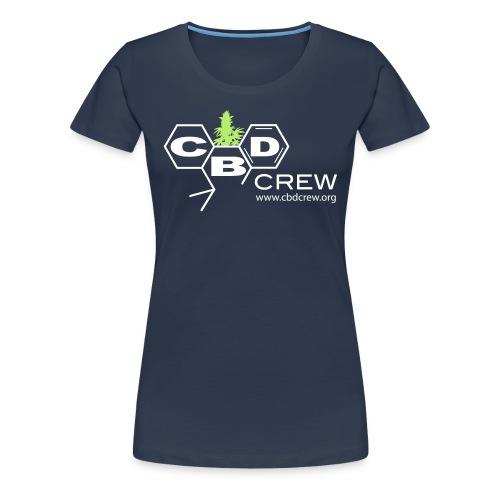 CBD Crew Woman's 2Color Logo -Shirt. Long - Women's Premium T-Shirt