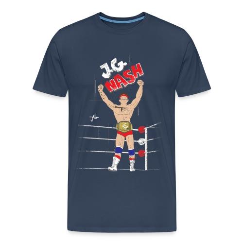 JG Nash - Old School - Men's Premium T-Shirt