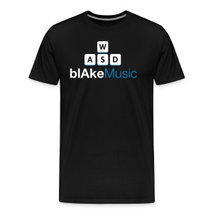 blAkeMusic Normal Edition - Men's Premium T-Shirt