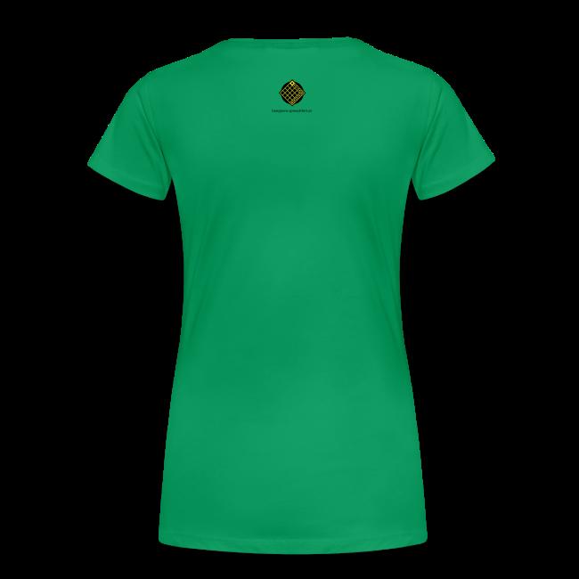 TIAN GREEN Shirt Women - Sonnenhut Schmetterling