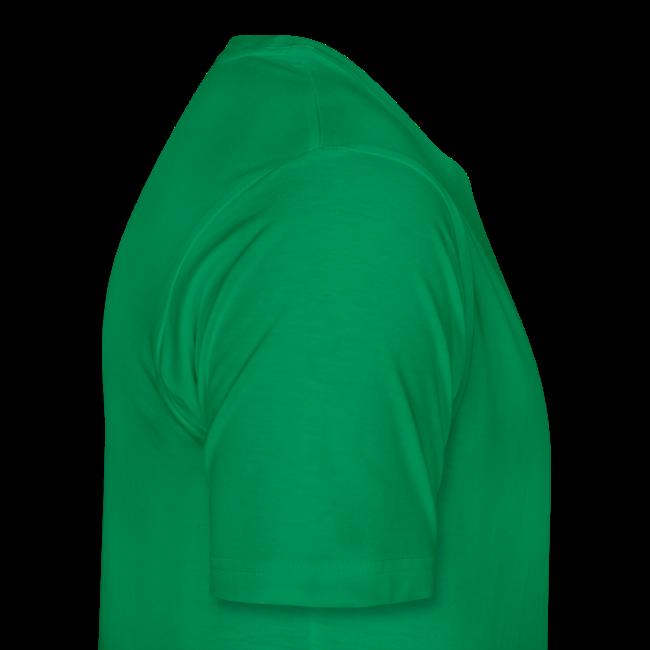 TIAN GREEN Shirt Men - Sonnenhut Schmetterling