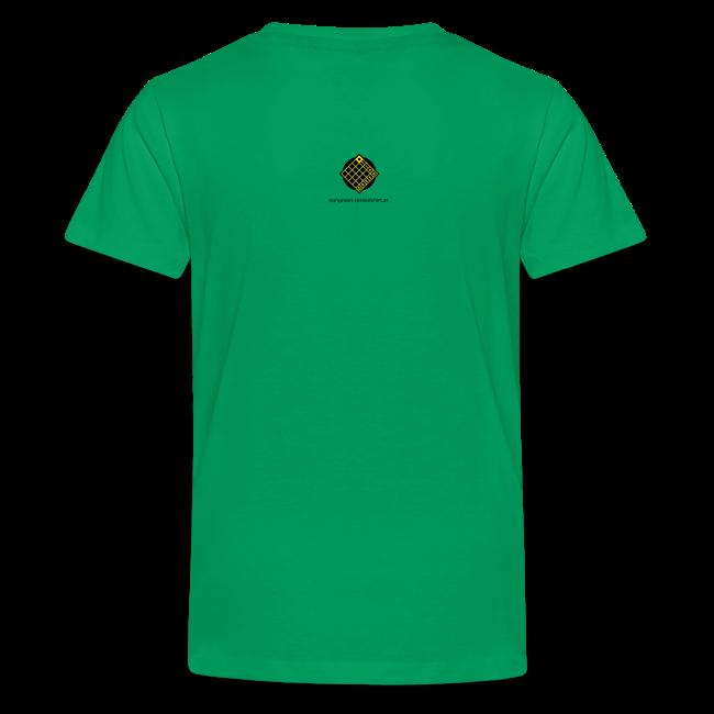TIAN GREEN Shirt Teen - Sonnenhut Schmetterling
