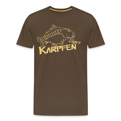 Karpfenangel Bekleidung - Männer Premium T-Shirt