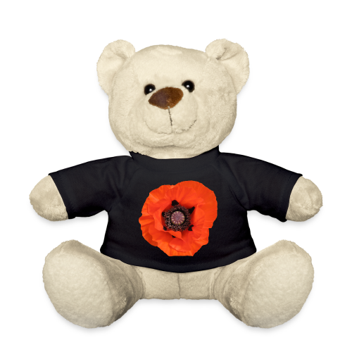 TIAN GREEN Teddy Bär - Mohn Blume - Teddy