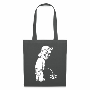 Pee Boy (white) - Tote Bag