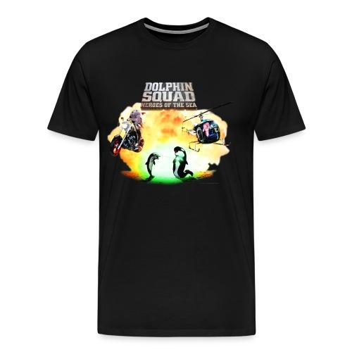 Dolphin Squad Movie - Men's - Men's Premium T-Shirt