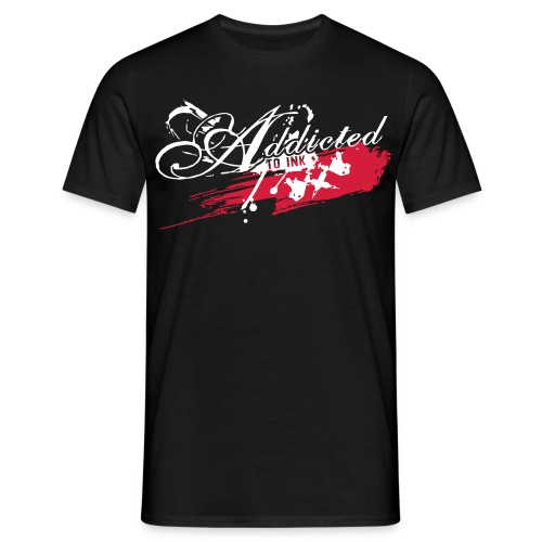 Addicted2_shirt_bl - Männer T-Shirt