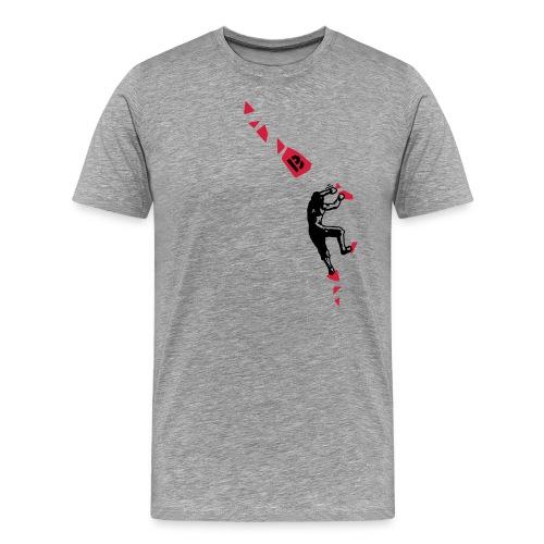 Boulderroute - Männer Premium T-Shirt